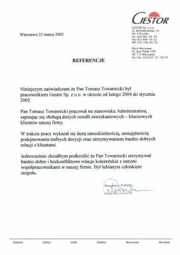 Zarządzanie nieruchomościami_Referencje Gestor Sp. z o.o.